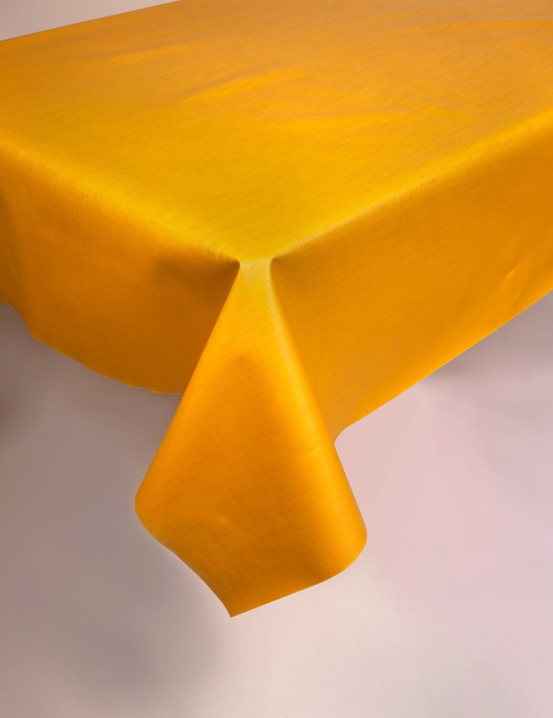 Toile cirée au mètre Taxis jaunes Largeur 140 cm